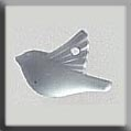 12052 - Small Bird Matte Crystal 11.25/7.8mm - 1 per pkg
